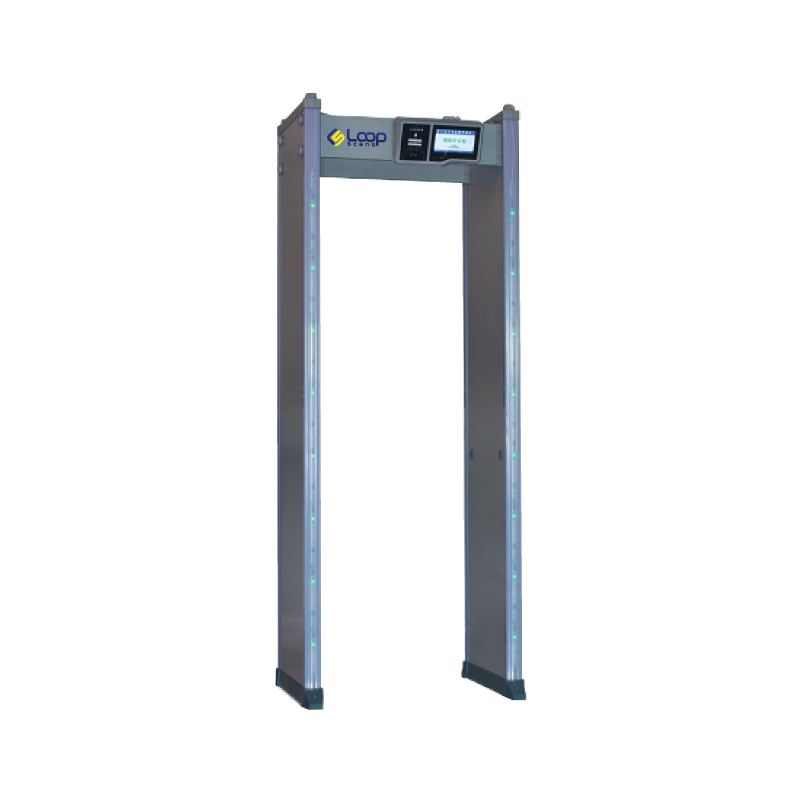 Loop scanner metal detector